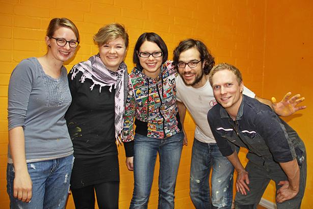 Hamburgprojekt Aktionswoche KitaFalkennest Renovieren