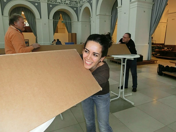 Hilfe beim Aufbau der Aktivoli-Freiwilligenbörse