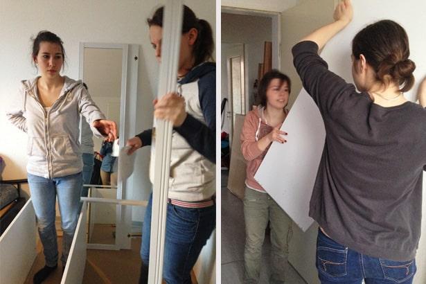 Familienhilfe: Ehrenamtliche helfen bei der Wohnungseinrichtung