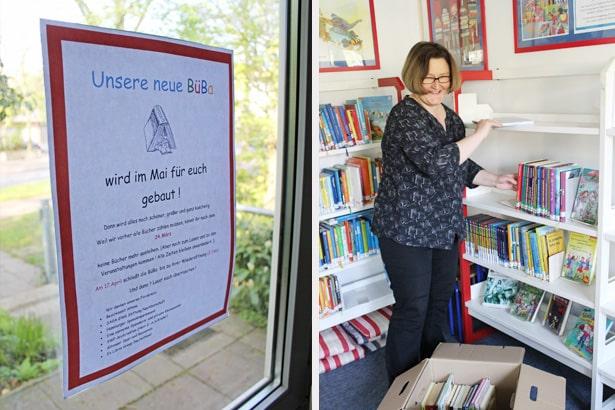 Hilfe für die Kinderbücherei BüBa