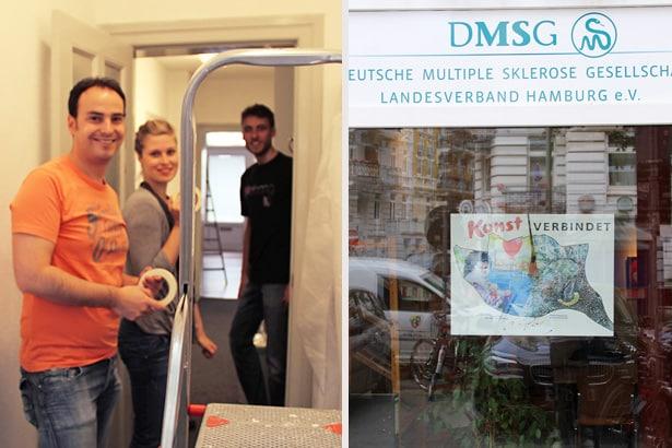 Freiwillige von Gruner + Jahr engagierten sich im DMSG Landesverband Hamburg