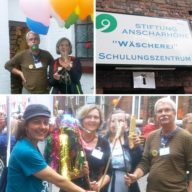 Hilfe beim Sommerfest der Stiftung Anscharhöhe 2014