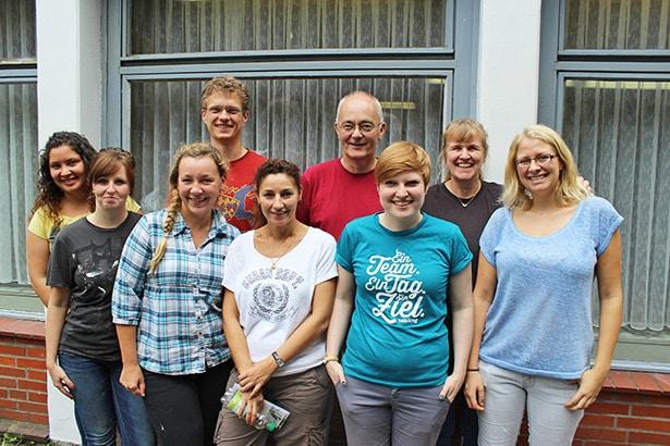 Ehrenamtliches Engagement in der Insel Arche Wilhelmsburg