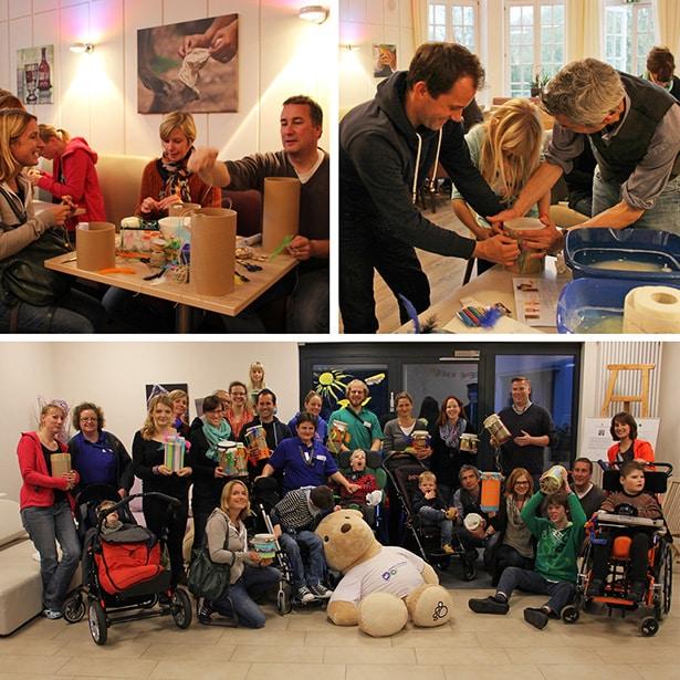 Freiwillige von Gruner + Jahr engagieren sich tatkräftig