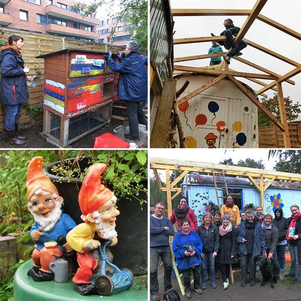 Ehrenamtliches Gartenprojekt in Wilhelmsburg