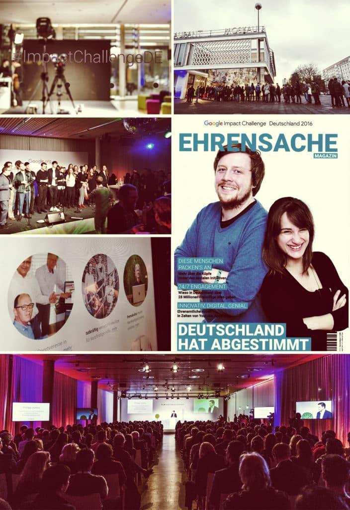 Google Impact Challenge Deutschland, tatkräftig e. V.