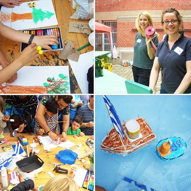 Sommerprojekte mit tatkräftigen Freiwilligen