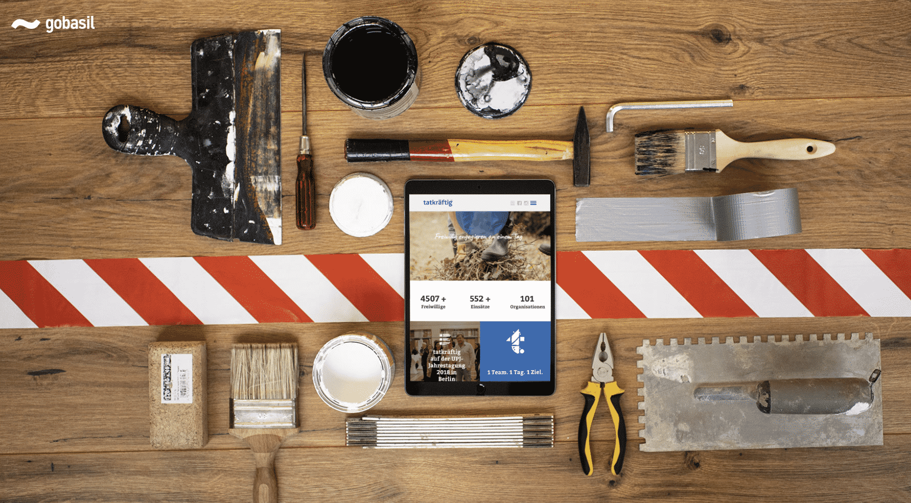 Neuer Web-Auftritt – gobasil macht tatkraeftig.org smartphonefähig