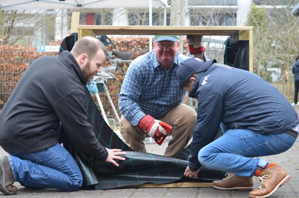 Große Hilfe für die Kleinen – 2 Baueinsätze in der Kita Heidberg